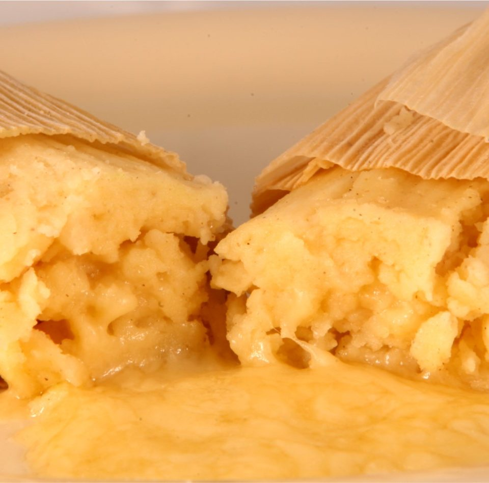 Cheesy Tamale