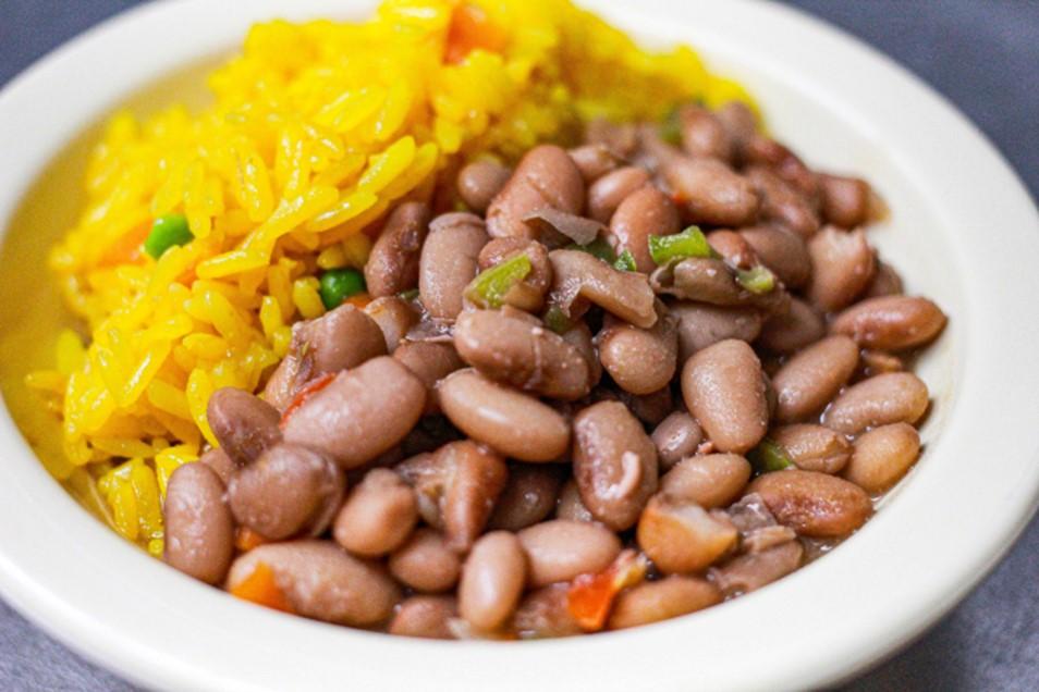 Pinto Beans with Rice